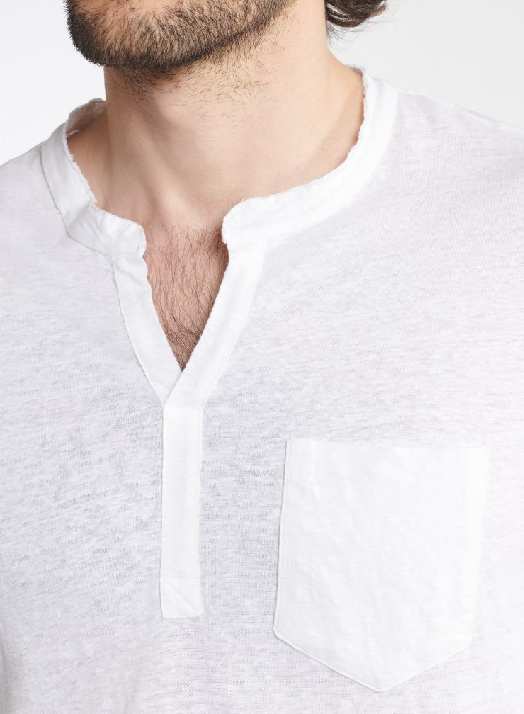 Man - Long sleeve Tunisian T-shirt