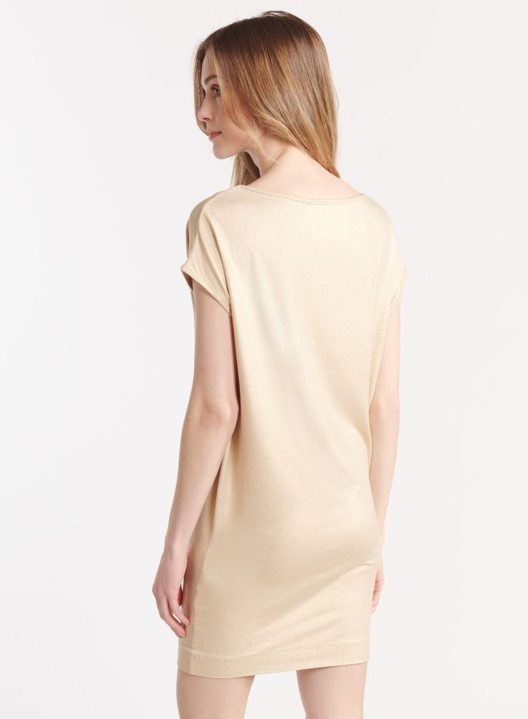 Shimmering tank dress