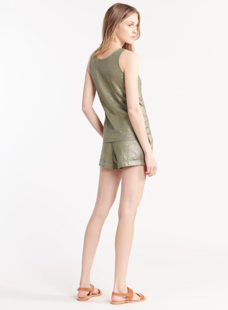Shimmering shorts