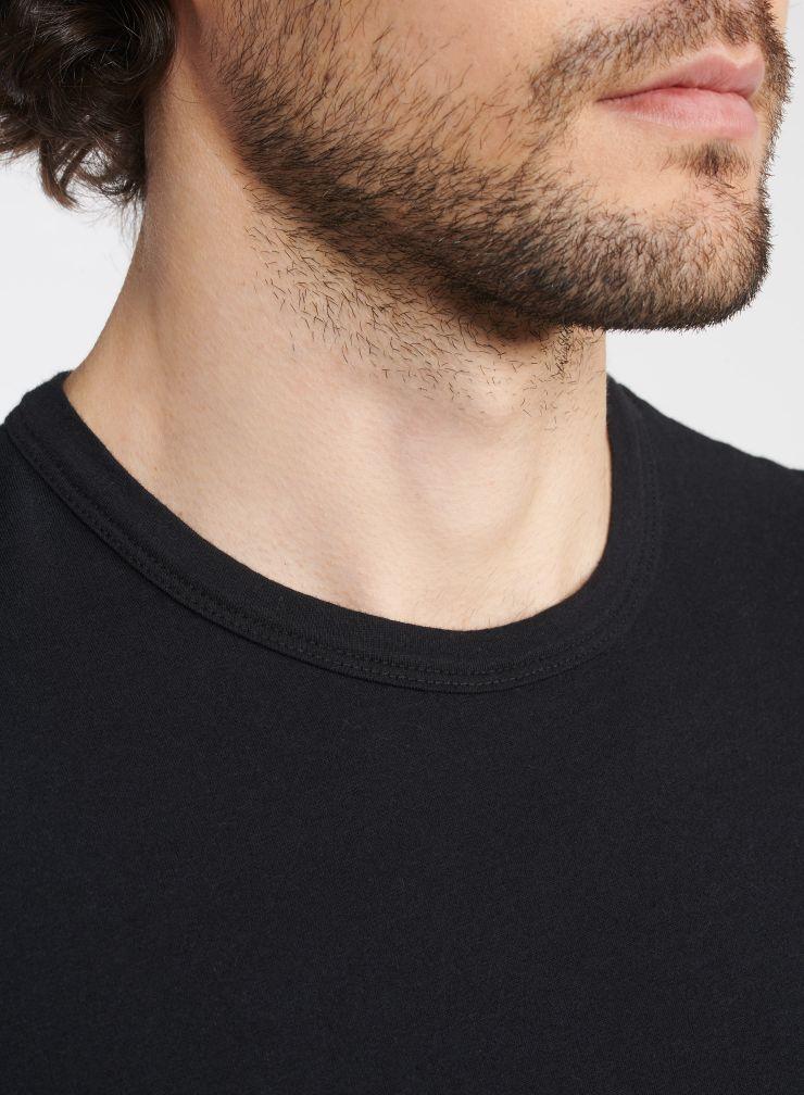 Man - Round neck Silk Touch T-shirt