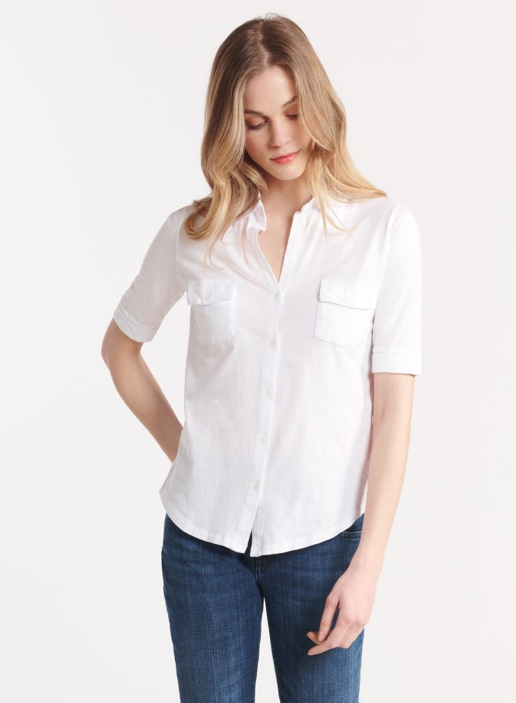 Elbow sleeve shirt