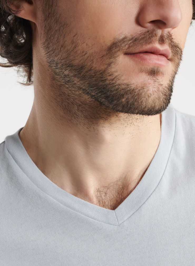 Man - Paul Silk Touch V-neck T-shirt