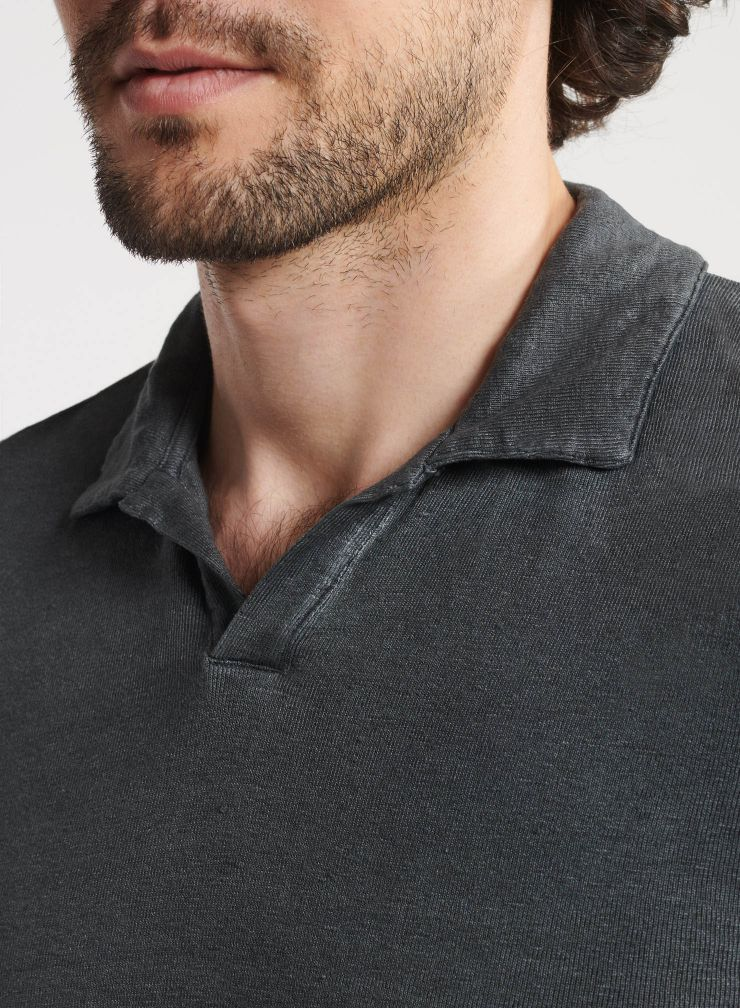 Homme - Polo teinture artisanale