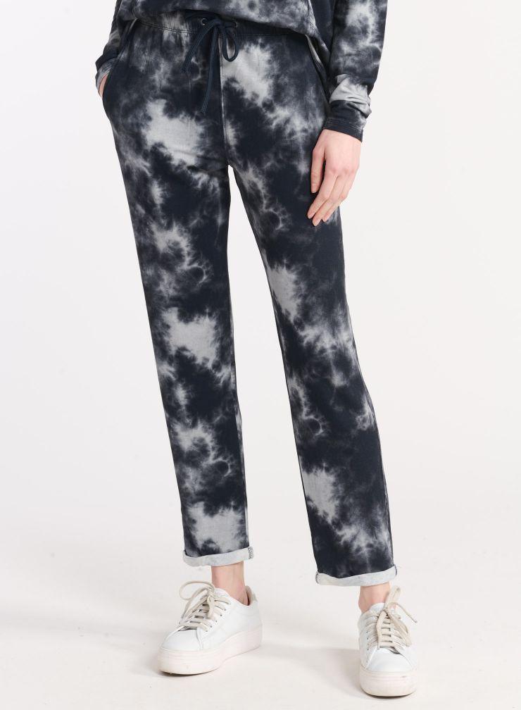 Pantalon molleton imprimé tie & dye