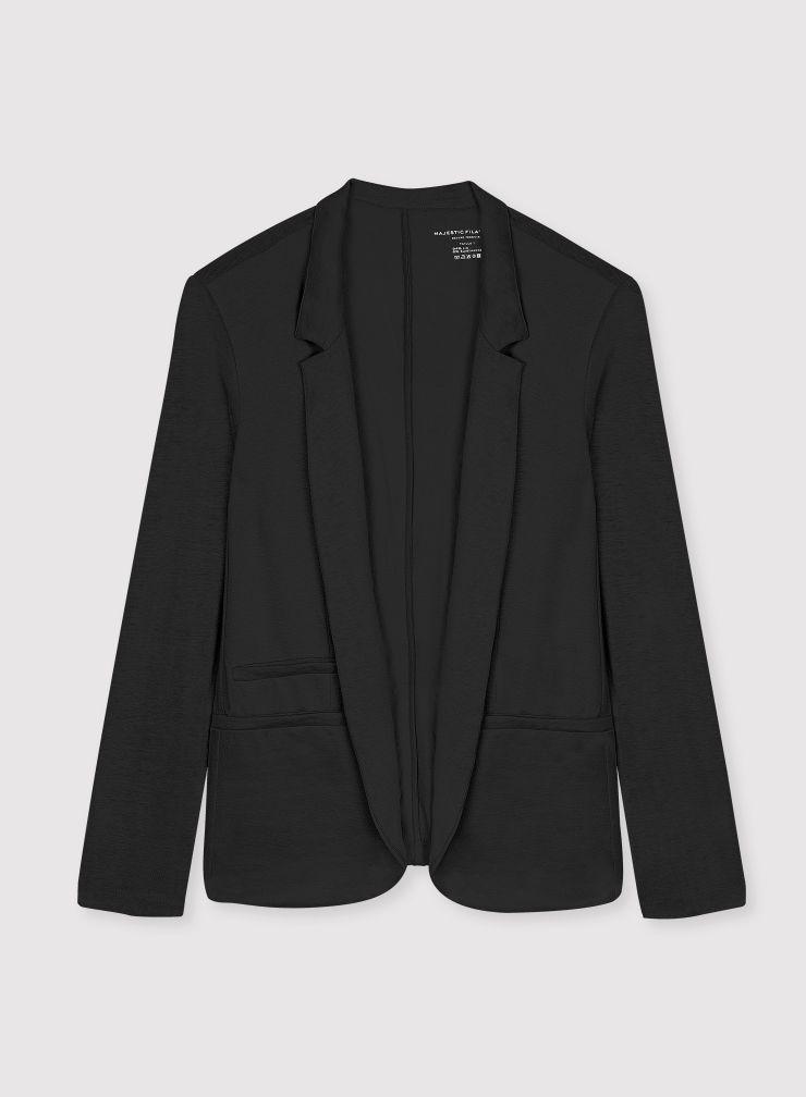 Veste poches passepoilées