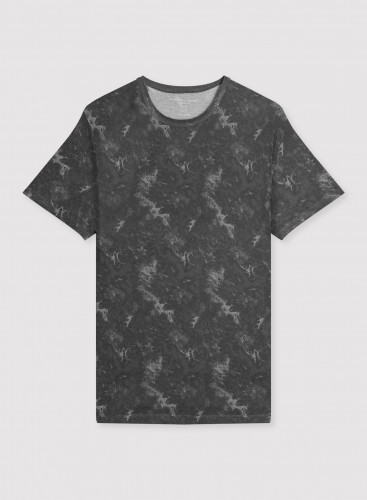 Homme - T-shirt col rond tie & dye