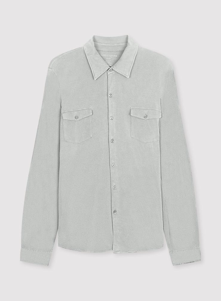 Man - Hand dyed 2-pocket shirt