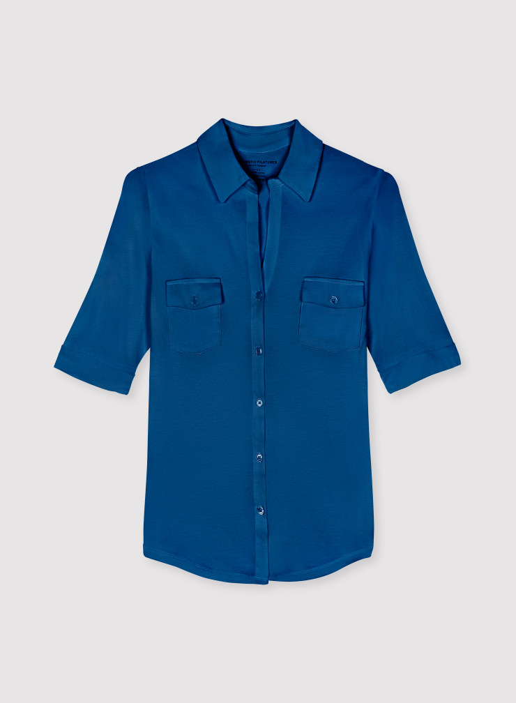 Chemise manches coudes Silk Touch