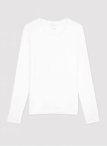 Man - Round neck long sleeves T-shirt