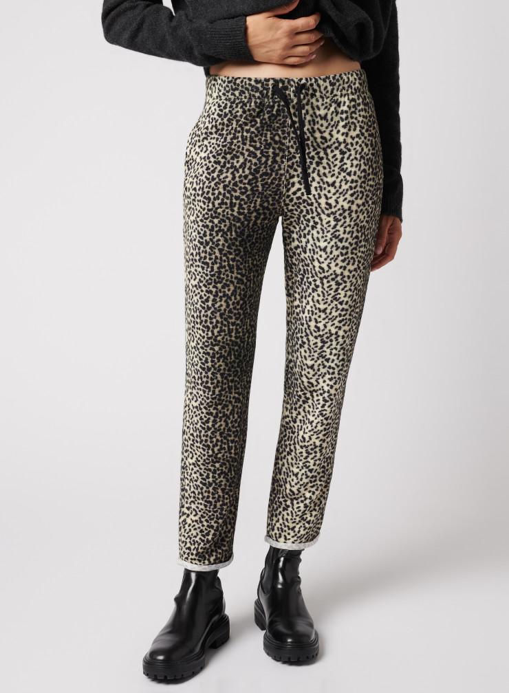 Scarf print pants
