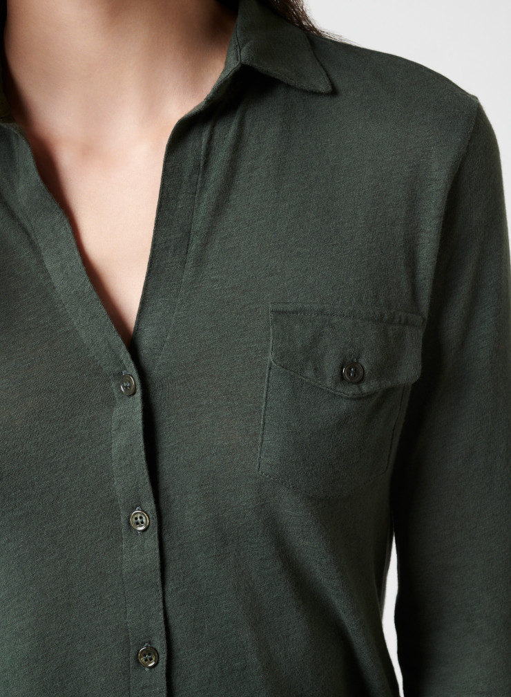 Chemise poches poitrine