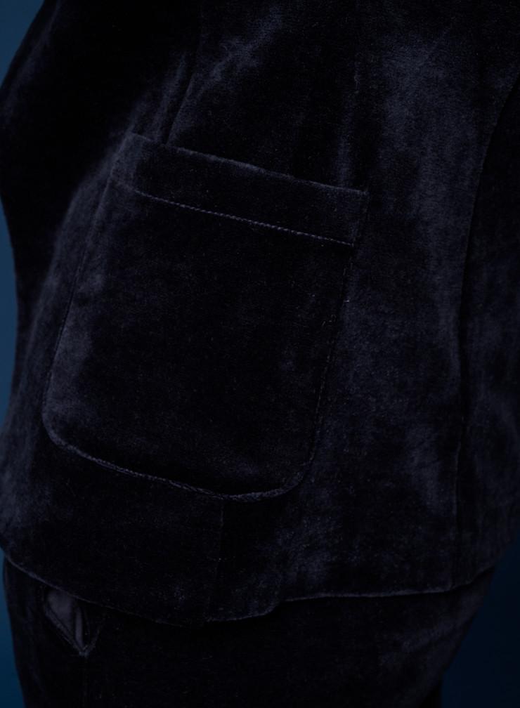 Veste 1 bouton 2 poches