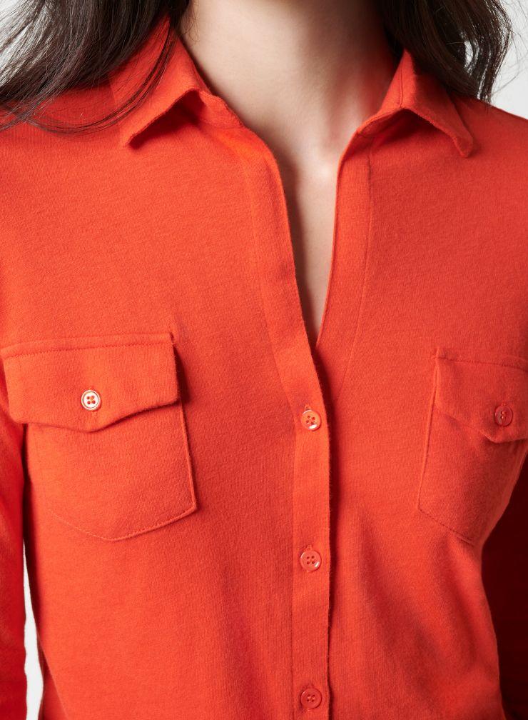 Chemise poches poitrine Clara