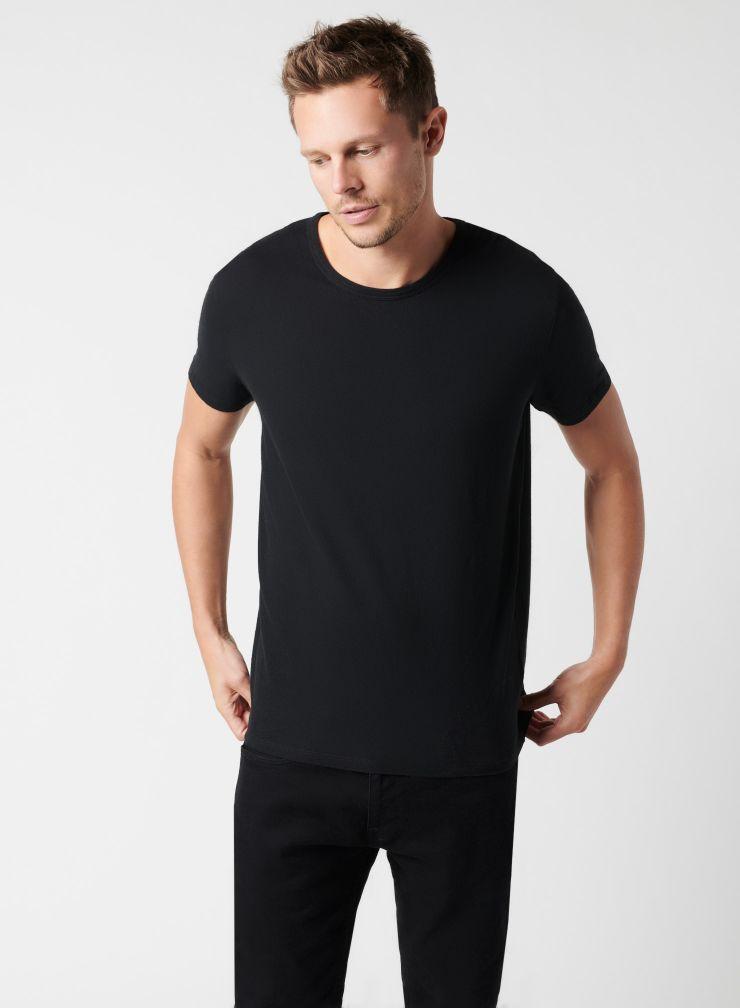 Hand dyed round neck T-shirt