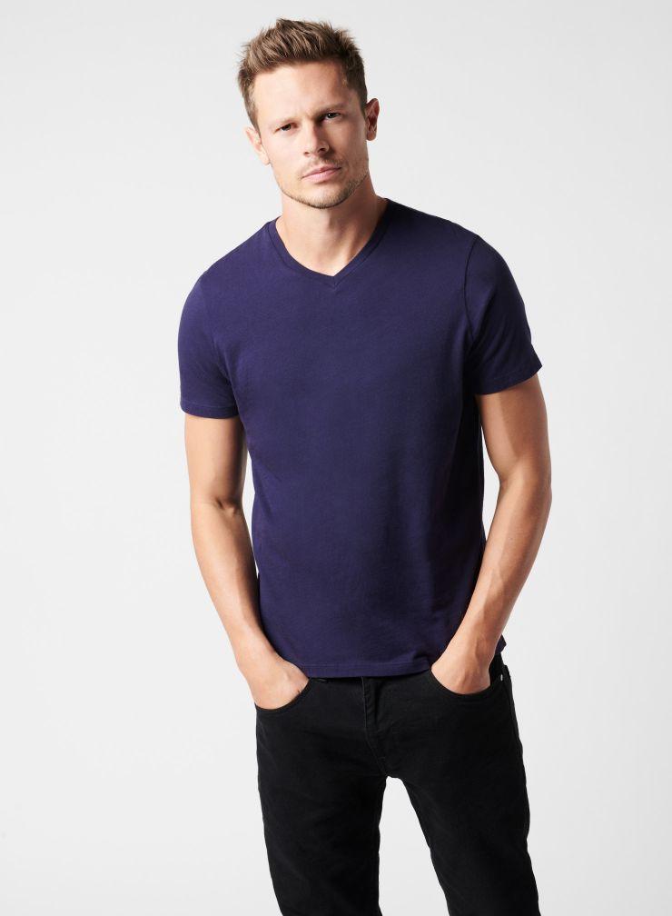 T-shirt col V Paul