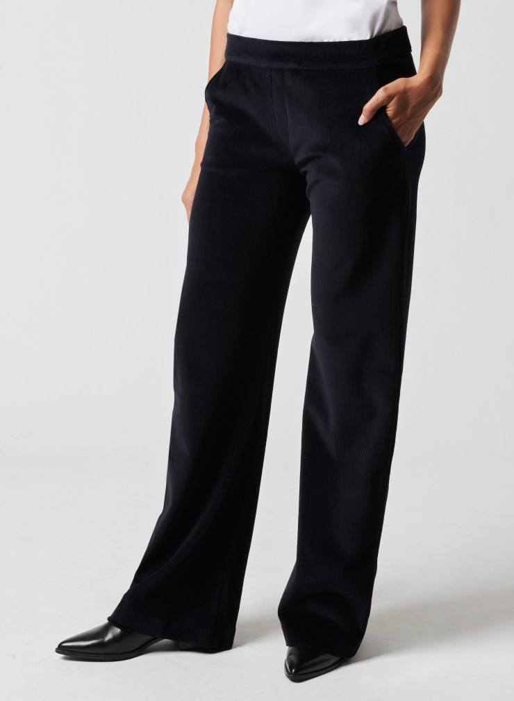 Pantalon velours côtelé
