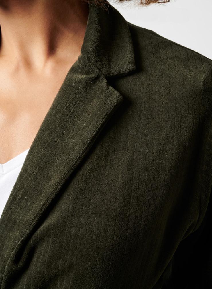 Veste poches plaquées