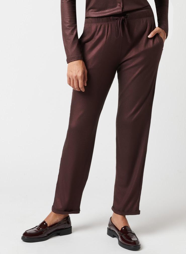 Shimmering pants
