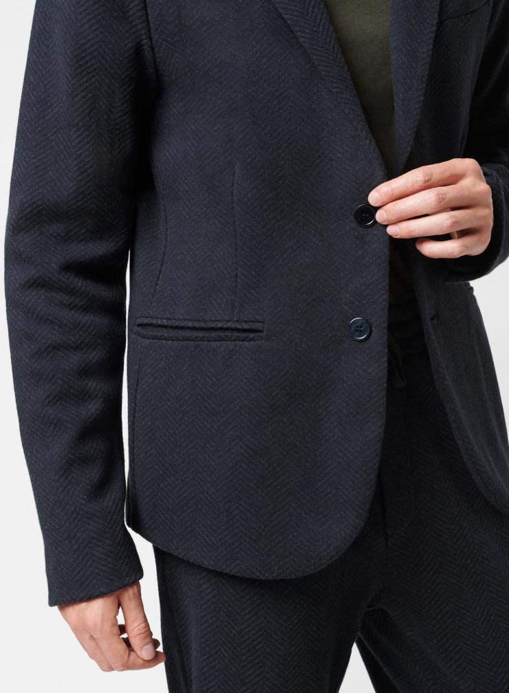 Veste 2 boutons avec poches