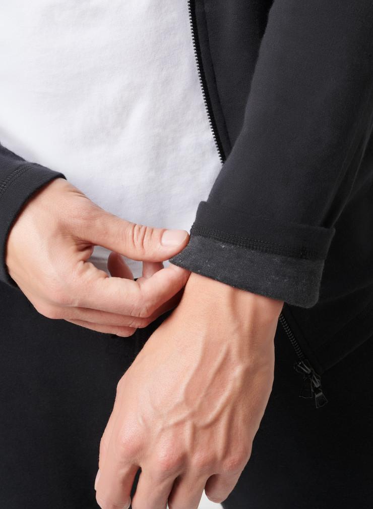 Sweat zippé capuche