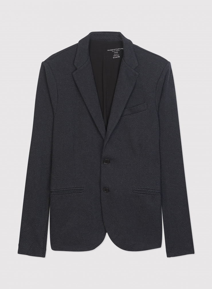 2-button jacket with pockets