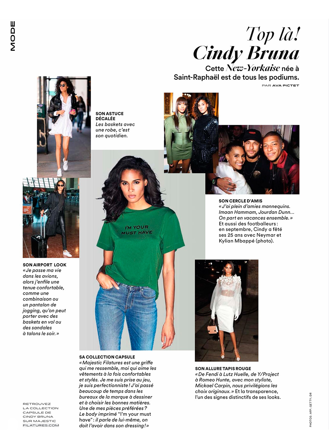 Grazia - Top là ! Cindy Bruna